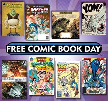 Free Comic Book Day 2010 Gold Sponsors