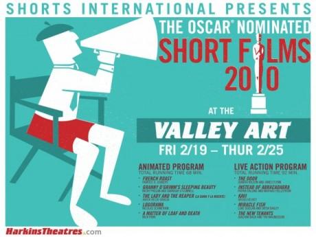Harkins Valley Art Oscar short films