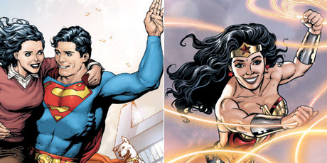 Superman, Wonder Woman