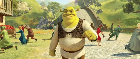 "Longing for the old days, Shrek (MIKE MYERS) wonders what it would be like to stroll through the village of Far Far Away and frighten all the townspeople in DreamWorks Animation's ""Shrek Forever After,"" releasing May 21, 2010 and distributed by Paramount Pictures."