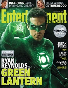 EW cover Green Lanter Comic-Con