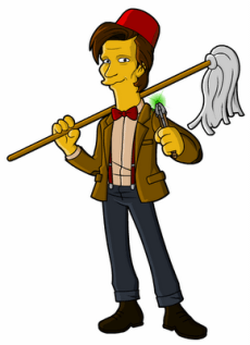 Springfield Punx Doctor Who