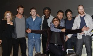 Avengers assemble at Comic-Con