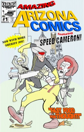 Encredicon Amazing Arizona Comics #1 by Russ Kazmierczak