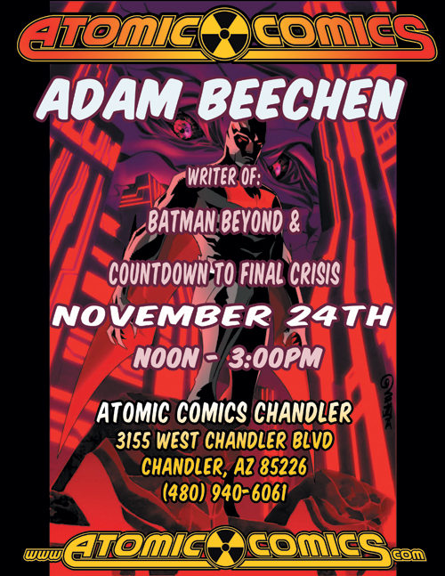 Adam Beechen signing