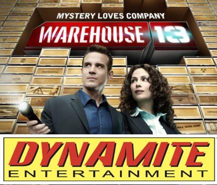 Warehouse 13 comic
