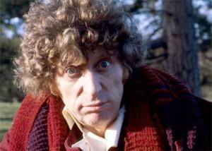 Tom Baker in Doctor Who