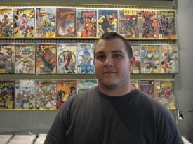 Josh Krize, Gotham City Comics & Coffee, Mesa