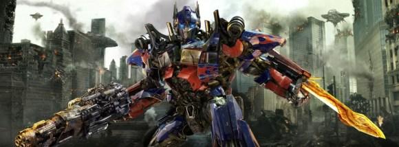Optimus Prime: Courtesy of Paramount Pictures