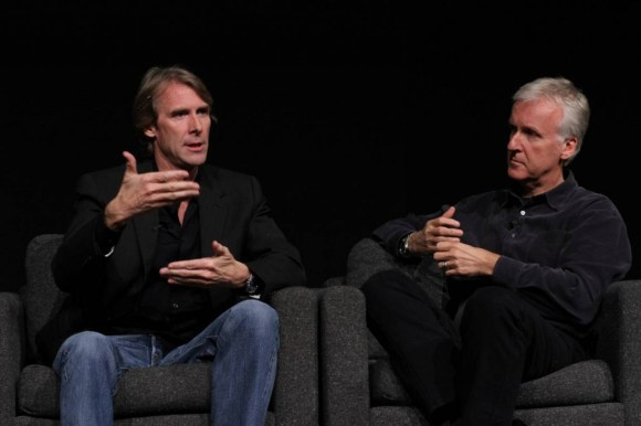 Michael Bay and James Cameron