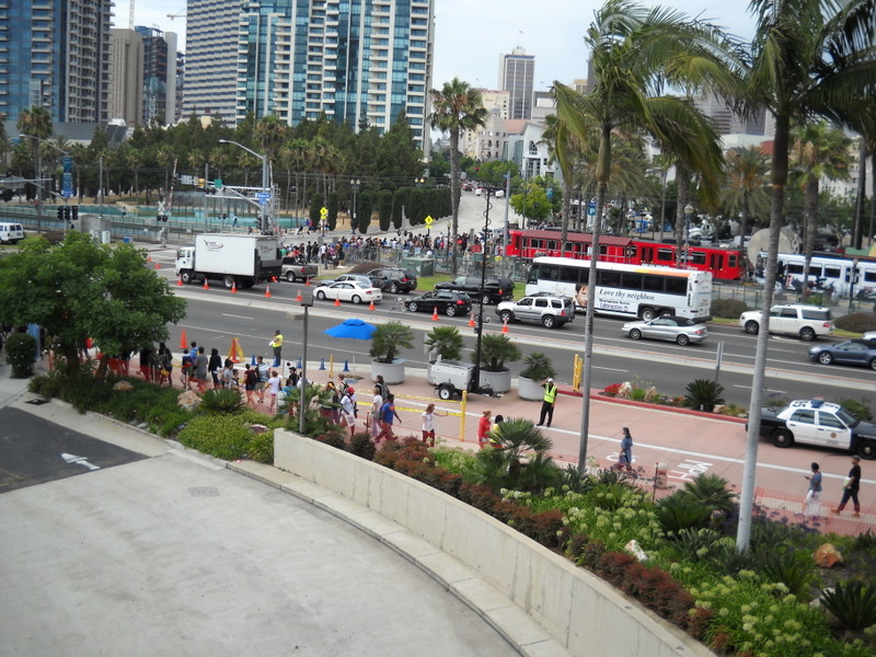 As the San Diego Comic-Con came to a close for another year, exhausted, but happy fans streamed away from the convention center.