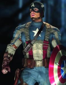 Chris Evans in Captain America (MARVEL)
