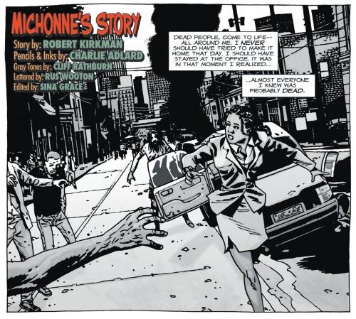 The Walking Dead in Playboy