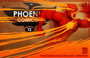 Phoenix Comicon Sunday Badge by BIGCHRIS