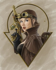 Steampunk Aviator by Keith Decesare