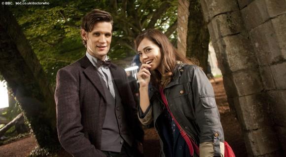 Matt Smith and Jenna-Louise Coleman (BBC)