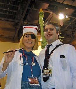 Nurse Narcotica & Dr. Diabolic