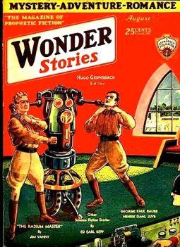 Frank R. Paul's Wonder Stories cover artwork