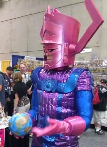 Galactus at Comic-Con 2012