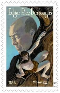 Edgar Rice Burroughs USPS Stamp