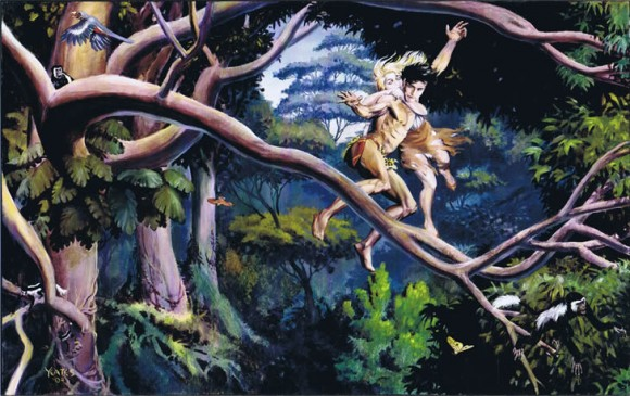 Tarzan & Jane by Thomas Yeates