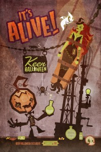 Keen Halloween Exclusive Print