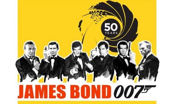 Global James Bond Day, Ocotber 5, 2012