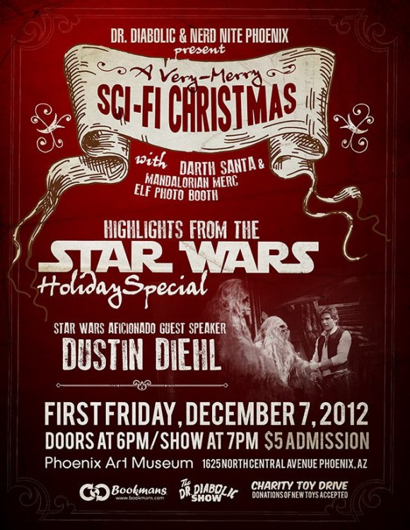 Star Wars holiday variety show