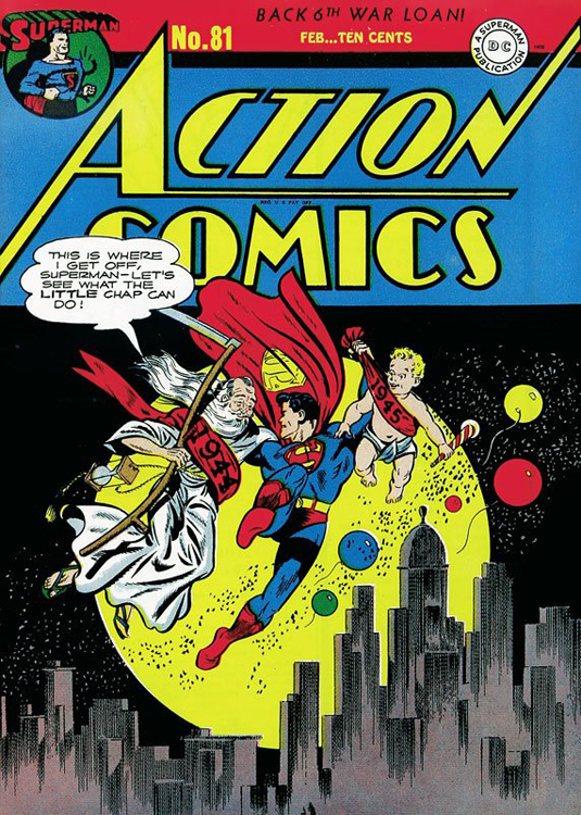 Action Comics #81 - Feb. 1945