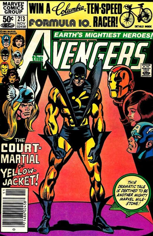 Avengers 213 November 1981