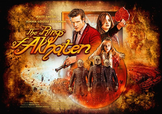 Clara wants to see something awesome, so the Doctor whisks her off to the inhabited rings of the planet Akhaten, where the Festival of Offerings is in full swing. Clara meets the young Queen of Years as the pilgrims and natives ready for the ceremony. But something is stirring in the pyramid, and a sacrifice will be demanded.  Executive produced by Steven Moffat and Caroline Skinner  Directed by Farren Blackburn  Written by Neil Cross  Produced by Denise Paul  Series produced by Marcus Wilson