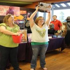 Awesome prizes were raffled off to the crowd.