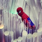 Spider-Man at the Fortress of Solitude...?