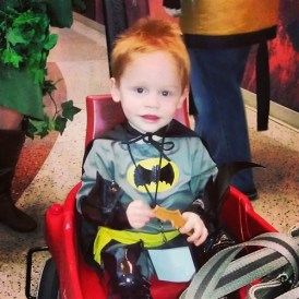 Batman ready for the Con!