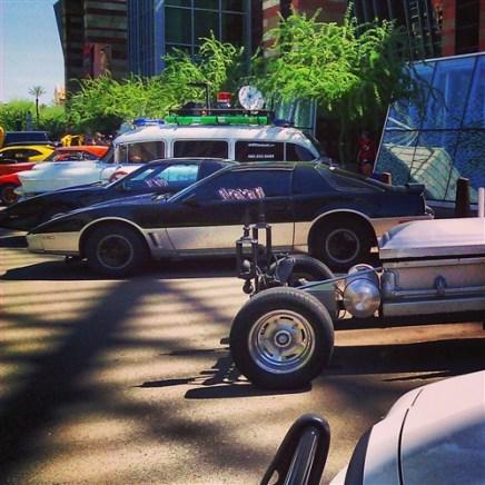 Phoenix Comicon Car Show