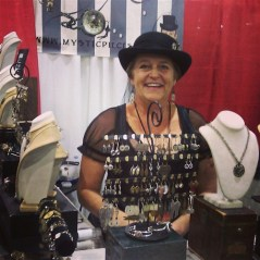 Local Steampunk Artisan Shelly Brooks, Booth #1284