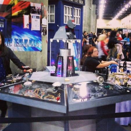 Dr. Who fun at Comicon