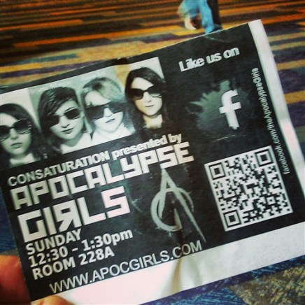 Apocalypse Girls Panel