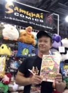 Mike Banks, Owner of Samurai Comics