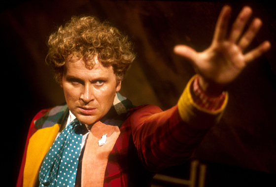 Colin Baker in Doctor Who