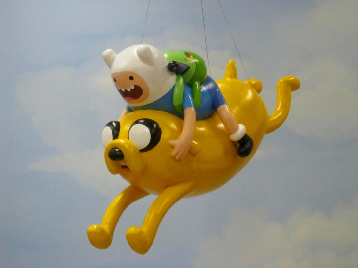 Adventure Time characters Finn and Jake join Macy's Thanksgiving Day Parade