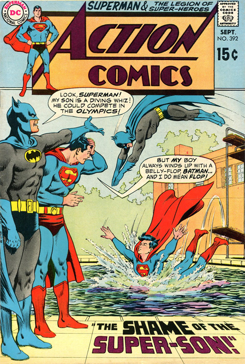 Action Comics #392 - September, 1970