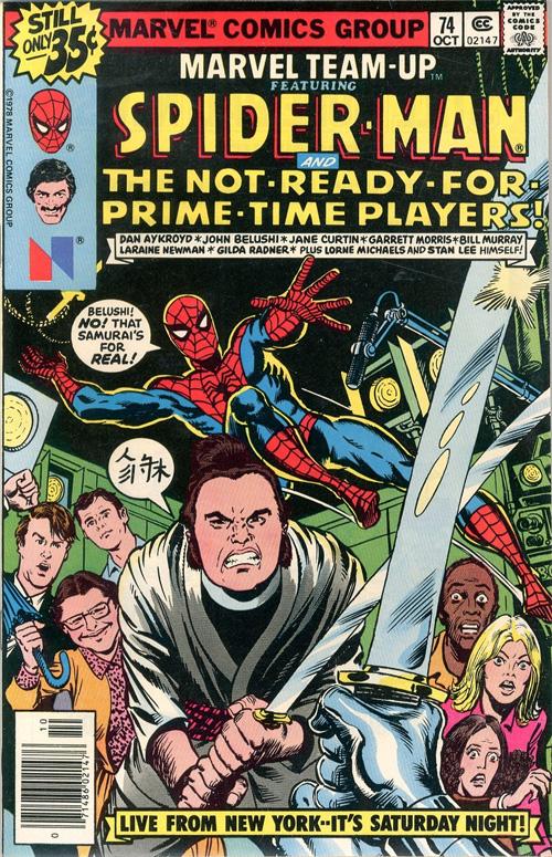 Marvel Team-Up #74 - October, 1978
