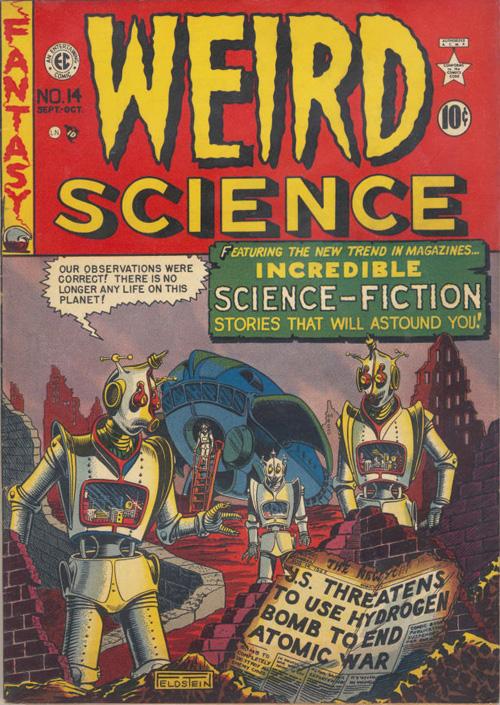 Weird Science #14 - Sept./Oct. 1950