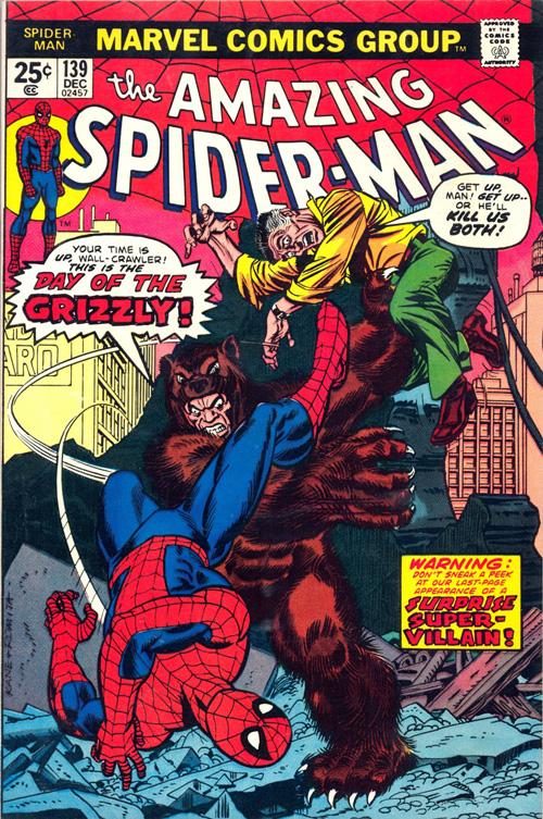 Amazing Spider-Man #139 - December, 1974