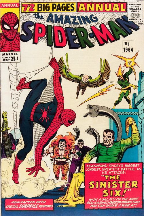 Amazing Spider-Man Annual #1 - October, 1964