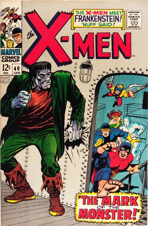 X-Men #40 - January, 1968