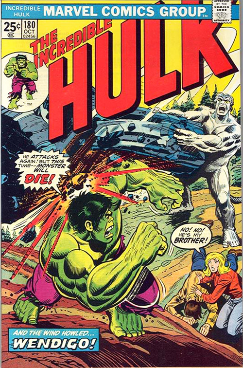 Incredible Hulk #180 - October, 1974