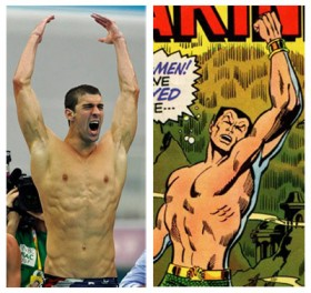 Michael Phelps as the Sub-Mariner?