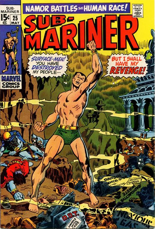 Sub-Mariner #25 – May, 1970